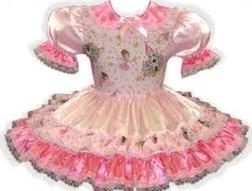 pink sissy dress